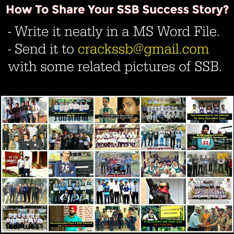 SSB Interview Stories Experience