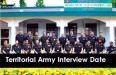 ta ssb interview date 2015