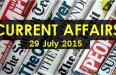 29-July-2015-Current-Affairs
