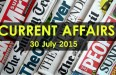 30-July-2015-current-affairs