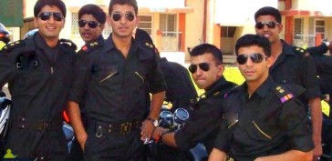 Indian Army Officers In Aviators (2)