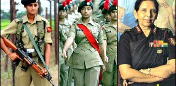 Indian military women