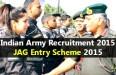 JAG Entry Scheme 2015