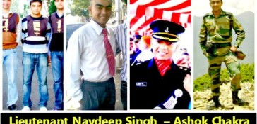 Lieutenant Navdeep Singh conferred with the highest peacetime gallantry award of India – Ashok Chakra