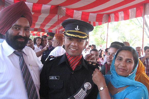 Lieutenant Navdeep Singh
