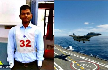 Recommended In First Attempt For Indian Navy Pilot