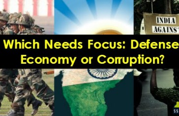 Which Needs Focus Defense, Economy or Corruption