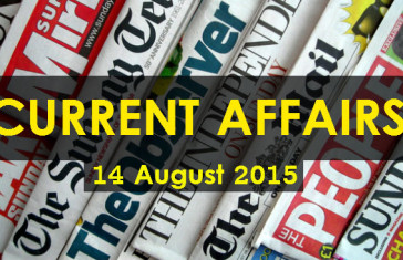14-August-2015-Current-Affairs