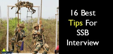 16 Best Tips For SSB Interview