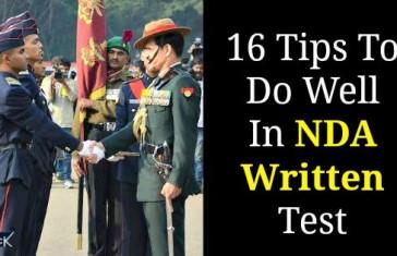 16 Tips To Do Well In NDA Written Test
