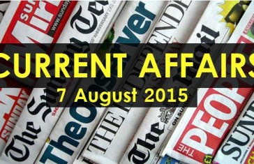 7-August-2015-Current-Affairs