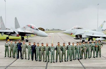Indian air force with raf