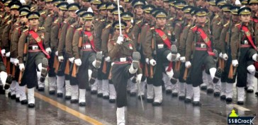 Indian army contingent