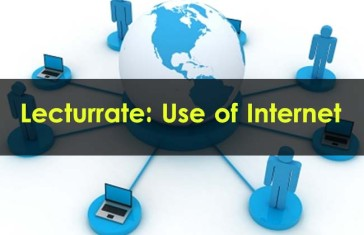 Lecturrate-Use-of-Internet