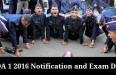 NDA 1 2016 Notification and Exam Date