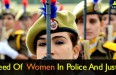 Need Of Women In Police And Justice