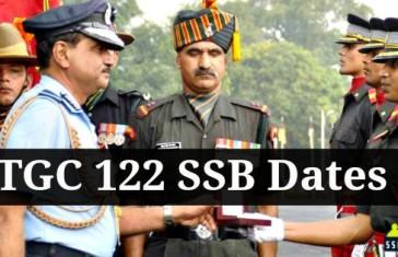 TGC 122 ssb dates