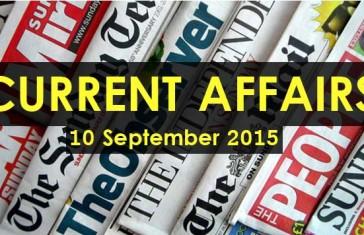 10-September-2015-Current-Affairs