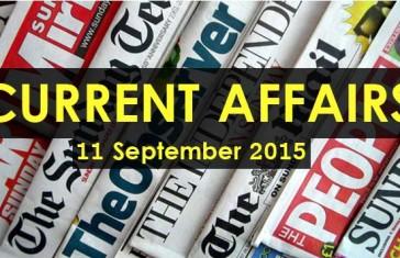 11-September-2015-Current-Affairs