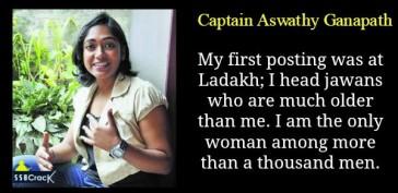 Captain Aswathy Ganapath