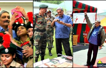 12 Pictures That Prove Manohar Parrikar Is The Most Active Defence Minister
