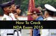 How To Crack NDA Exam 2015