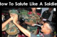 How To Salute Like A Soldier