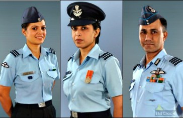 Indian Air Force All uniforms