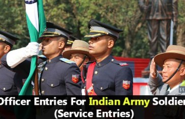 Indian army service entries