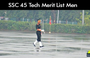 SSC 45 Tech Merit List