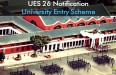 UES 26 Notification University Entry Scheme