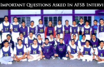 54 Important Questions Asked In AFSB Interview