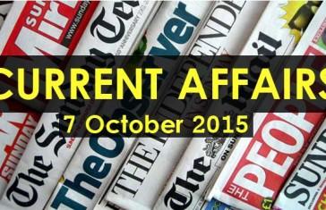 7-October-2015-Current-Affairs