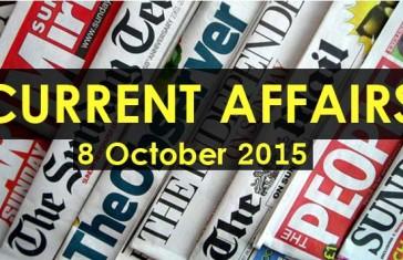 8-October-2015-Current-Affairs