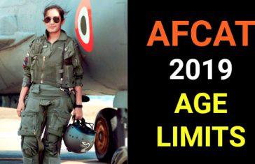 AFCAT 2019 AGE LIMITS