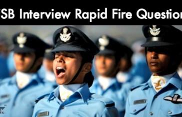 AFSB Interview Rapid Fire Questions