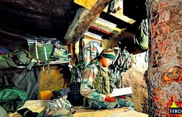 Army Jawan Preparing for SSB Interview Near LOC