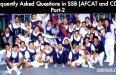 Frequently Asked Questions in SSB (AFCAT and CDS) Part-2