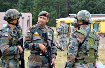 Indian army exercise
