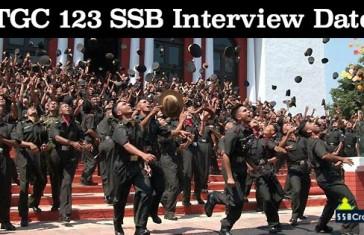 TGC 123 SSB Dates