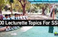 400 Lecturette Topics For SSB