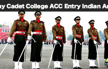 Army Cadet College Entry ACC
