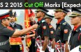 CDS 2 Cut off marks 2015
