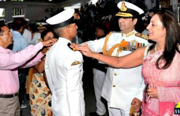 Indian Naval Academy Passing Out Parade Nov 2015 1
