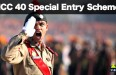 NCC 40 Special Entry Scheme