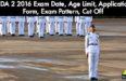 NDA 2 2016 Eligibility, Age Limit, Education Qualification, Cut Off, Exam Date