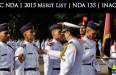 UPSC NDA 1 2015 Merit List | NDA 135 | INAC 97