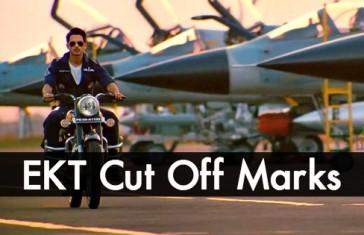 ekt cut off marks