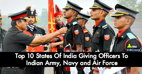 Top 10 States Of India Giving Officers To Indian Army