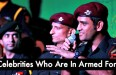 9 Celebrities Who Are In Armed Forces